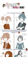 Double Meme: Rin+Matsu ver. by matsudayo