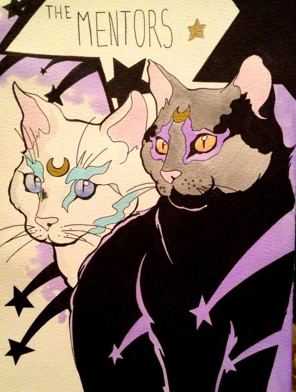 SMPP Luna and Artemis by BradenLock