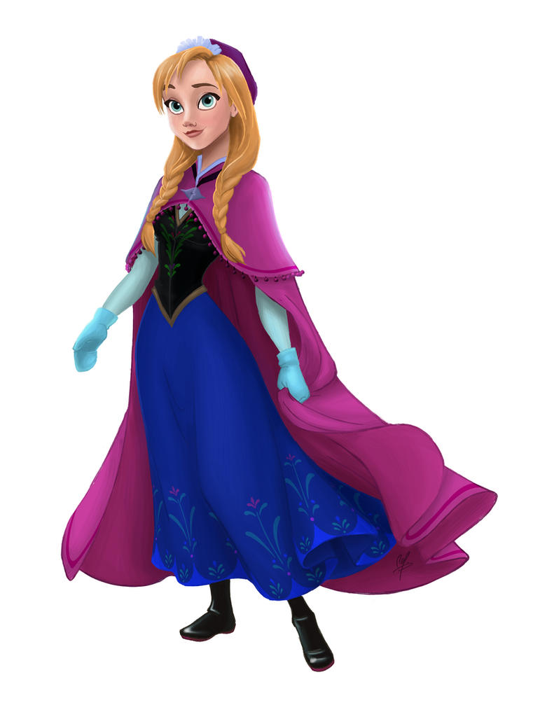 Anna pictures frozen of from