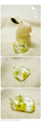 handmade plant resin 1