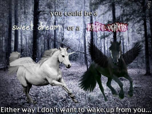 Sweet dreams or a beautiful nightmare?