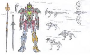Thunder Megazord Movie by saramus01