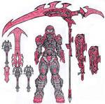 Doom Eternal -  Ruby Rose Praetor Suit