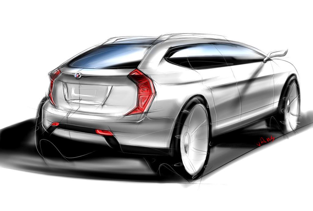 Suv Design Sketch By Vanszhang On Deviantart
