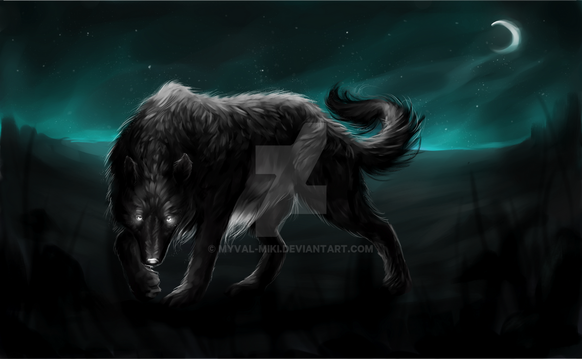(Comm) Night of Predator by Myval-miki