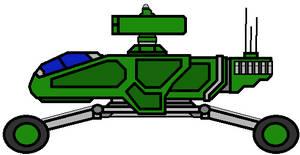 Terran Army Striker Missle Buggie