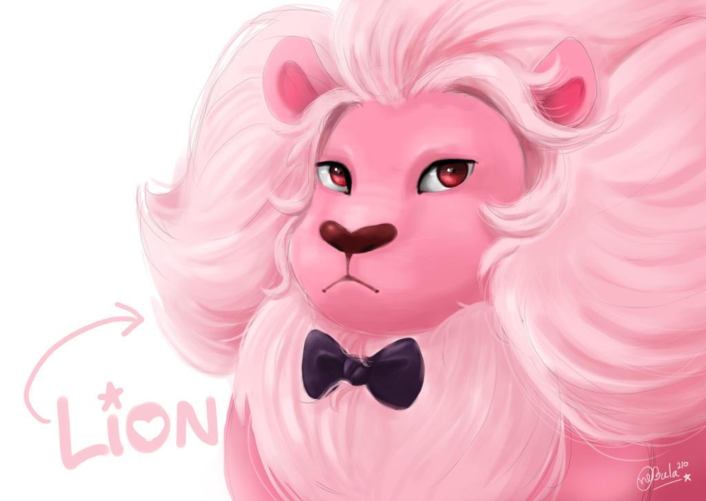 Lion with bow tie by nebula210