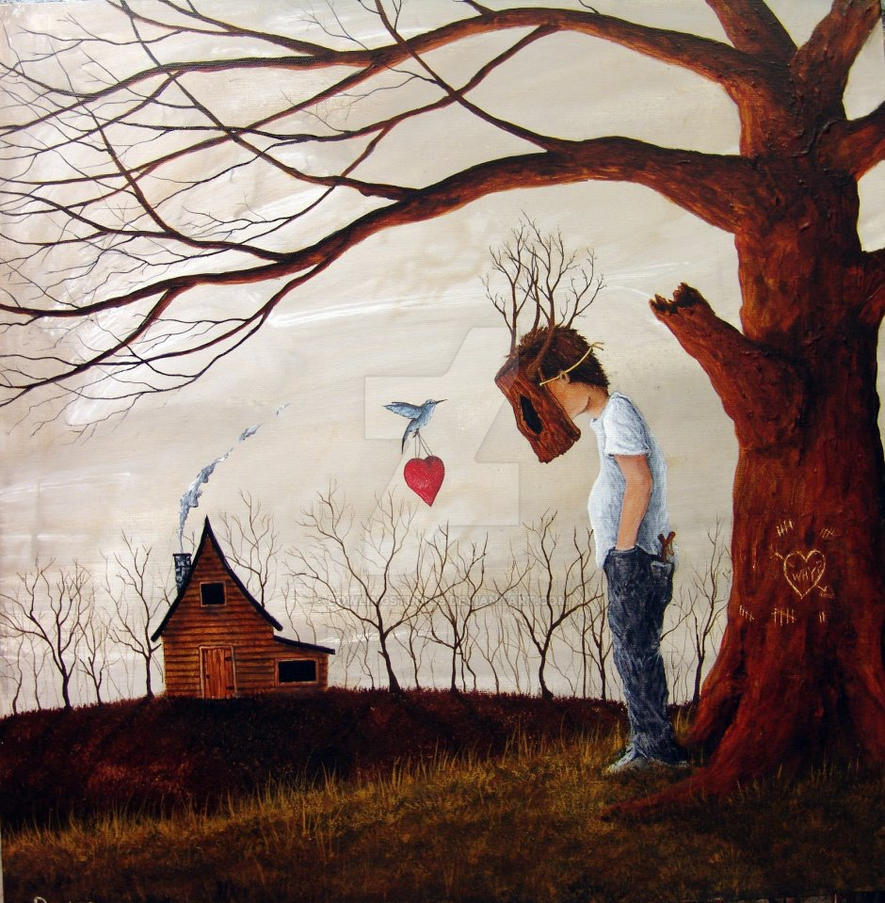 Maybe this valentine by dowlingstudios on deviantart for Meaningful paintings pictures