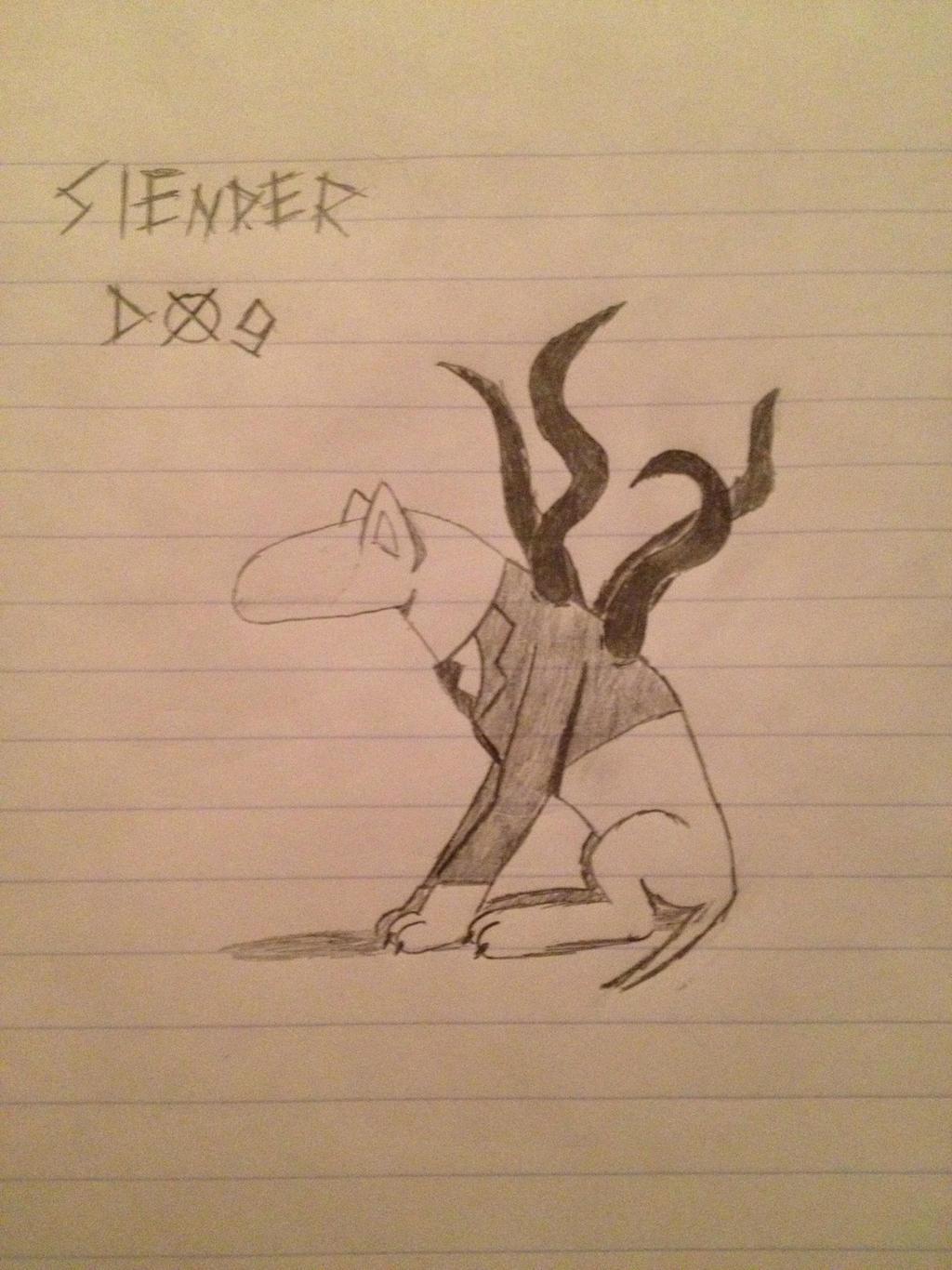 Slender Dog by Fancyshark14
