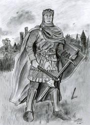 Robert the Bruce Drawing by Bilgekhan