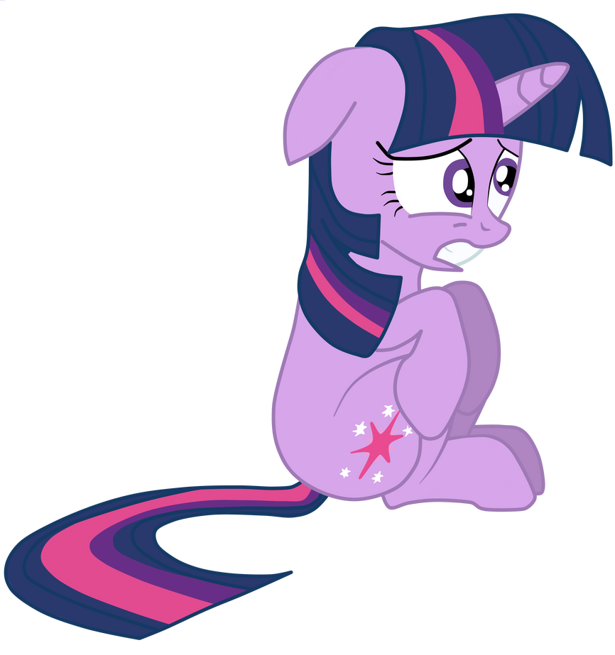 Scared Twilight Sparkle by JunkiesNewb