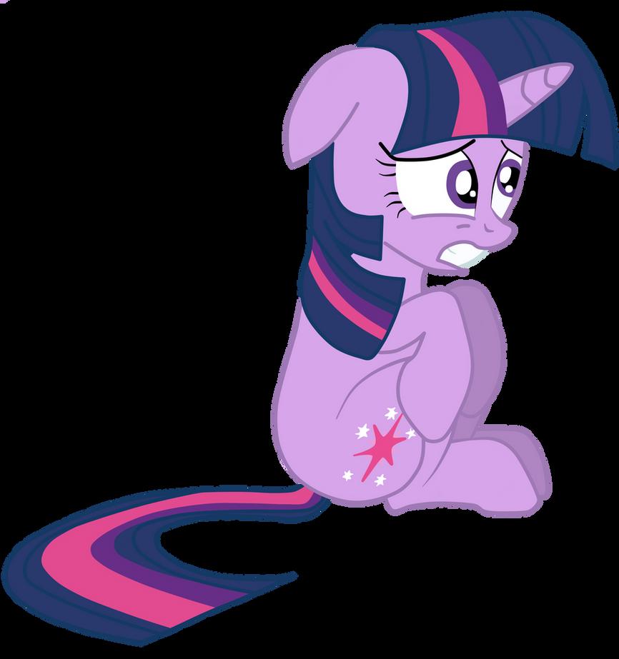 Scared Twilight Sparkle by JunkiesNewb