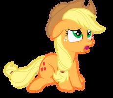 Applejack is in Disbelief by JunkiesNewb