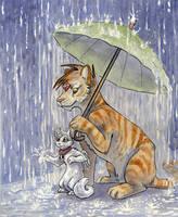 Raindrops by clickclackcat