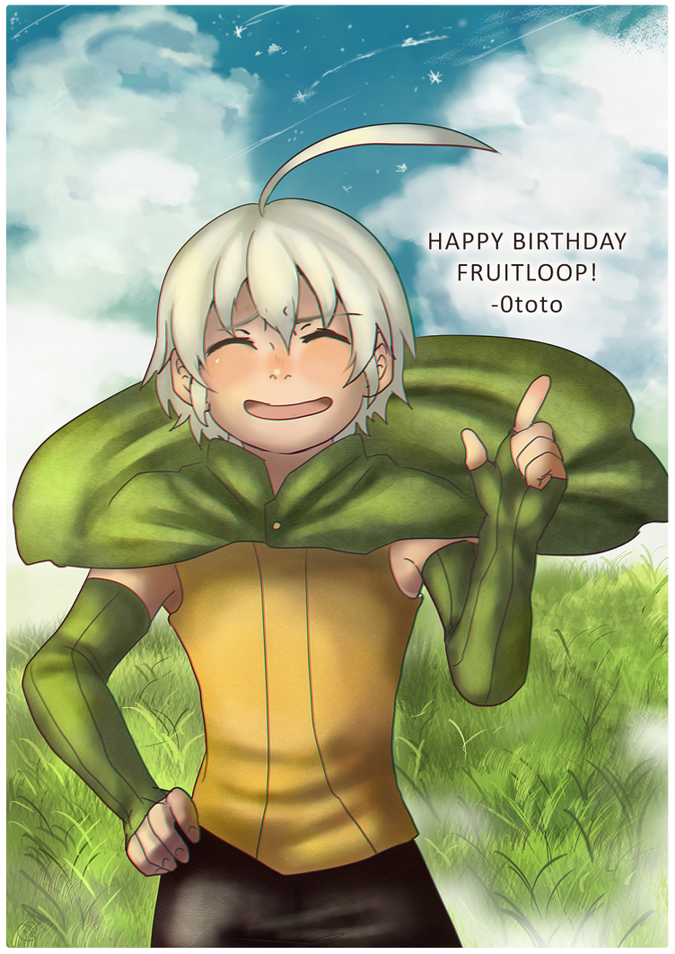 Happy Birthday Fruitloop-chan by 0toto