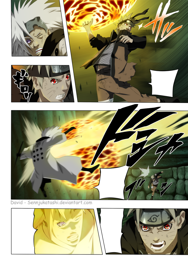 Naruto 673 Pag 4 Color by SenjuKatashi on DeviantArt