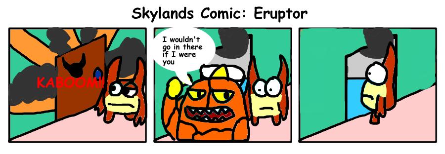Skylanders Comic - Eruptor by Blackrhinoranger