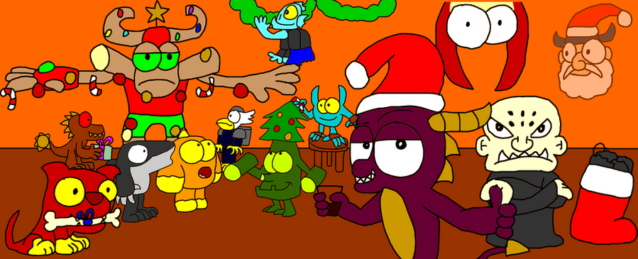 Skylanders Christmas Image by Blackrhinoranger on DeviantArt