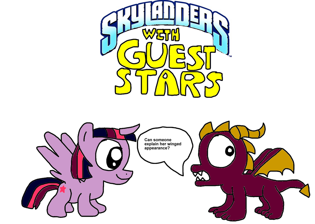 Skylanders With Guest Stars Magic By Blackrhinoranger On Deviantart