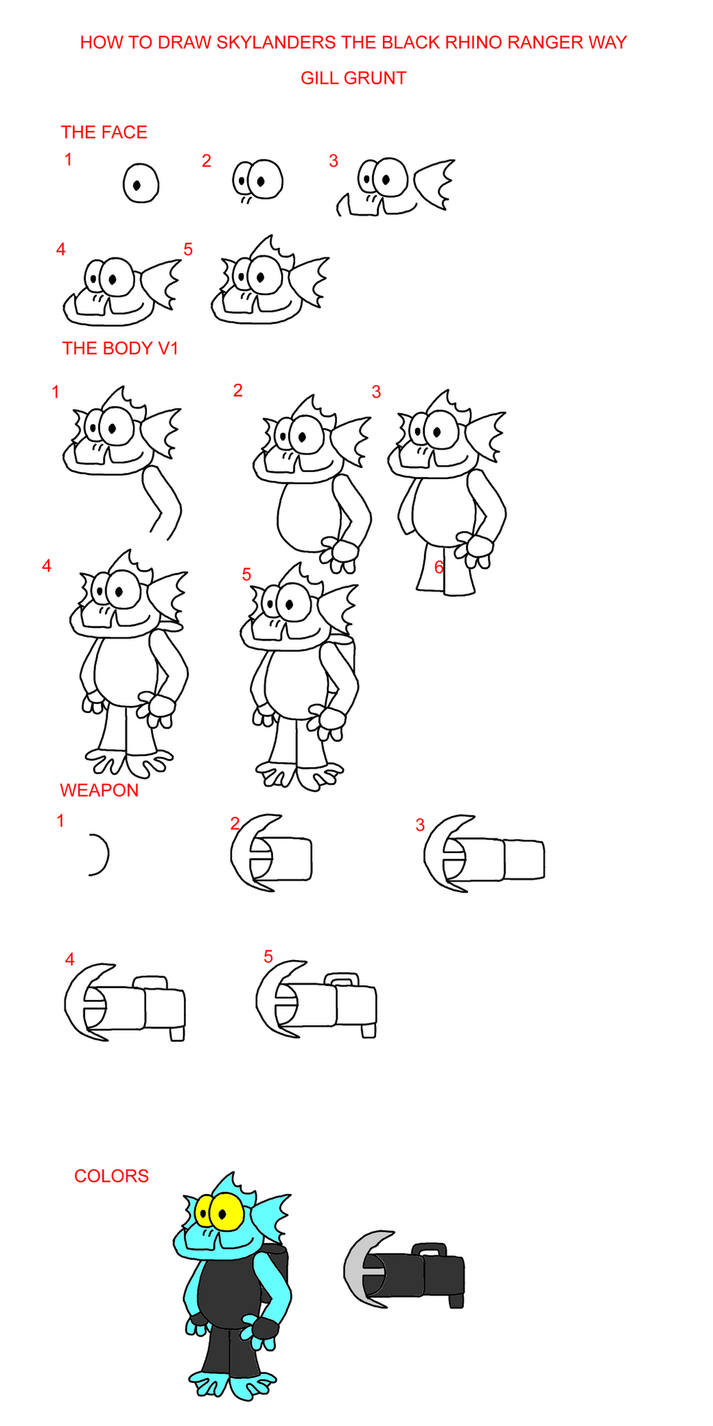 how to draw spyro from skylanders step by step