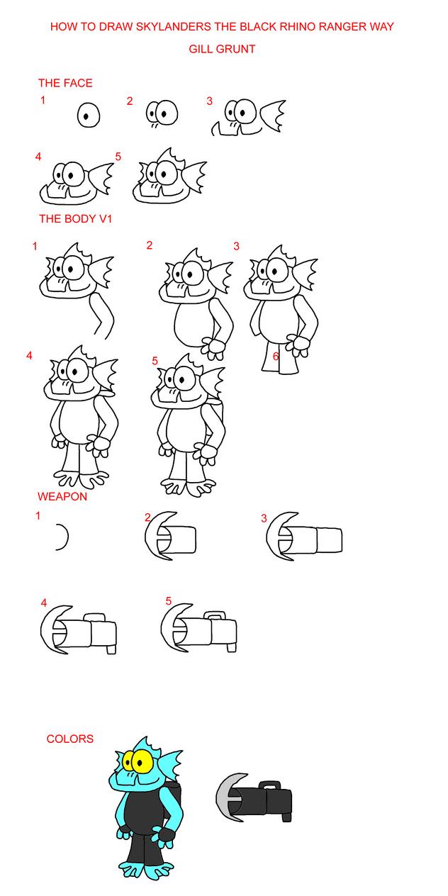 How To Draw Skylanders Spyro