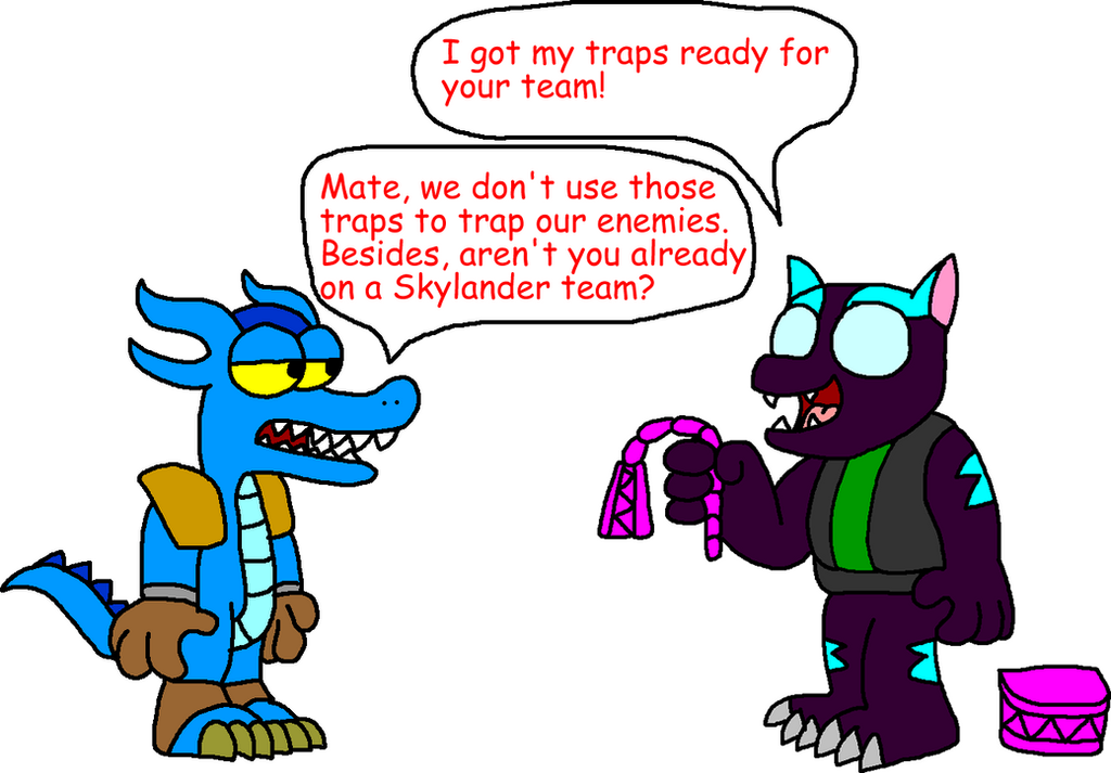 Skylanders Trap Team Coloring Pages Snapshot Trap shadow wants to join