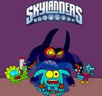 Skylanders Comic Cover Parody 2