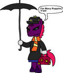 Tempest Shadow as Mary Poppins by Blackrhinoranger