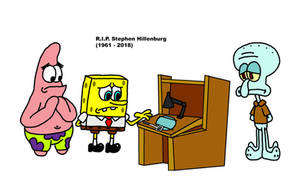 In memory of Stephen Hillenburg by Blackrhinoranger