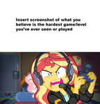 Gamer Sunset frustrated at template