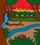 Pray For Amazonia by Blackrhinoranger