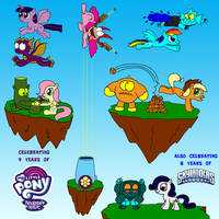 Skylanders and My Little Pony Anniversary picture