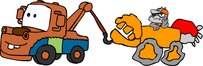 Smash Hit (in the Thump Truck) vs Tow Mater
