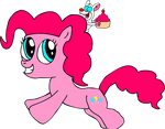 Pinkie Pie and Pinky