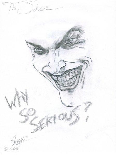 Joker Drawing by ShawnManchesterPhoto on DeviantArt
