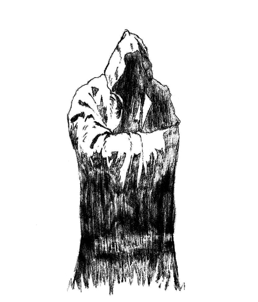 Hooded Figure By PastShadow On DeviantArt
