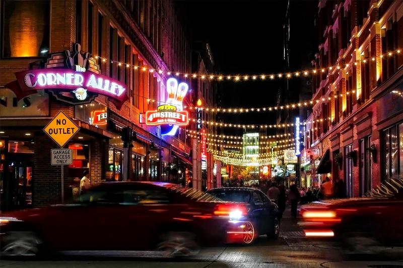 A Night on Forth Street by BStadler