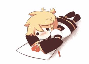 Crying Len - Animation by giannysuki