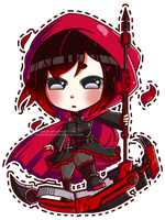 RWBY: Red by chibifuel