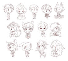 Free Sketch Requests by chibifuel