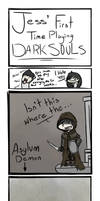 Jess' First Time Playing Dark Souls Experiences 1