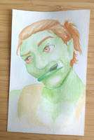 Pathetic attempt of watercolouring by naghree-tales