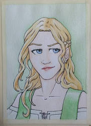 Ale watercolour by naghree-tales