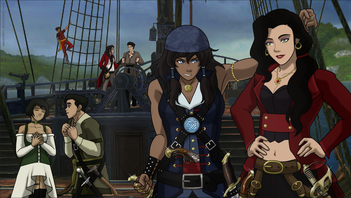 Korrasami 'Thank you gift - The High Seas by Swani by SandraLVV