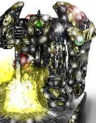 Thunder Megazord 2.0 by Rodimus84