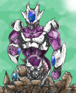 Cooler vs. Frieza by Rodimus84 on DeviantArt