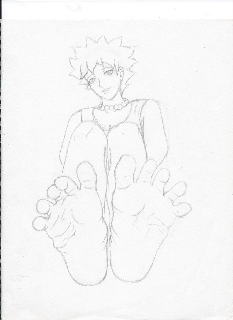Lisa (Sketch) by Feet-are-Cute