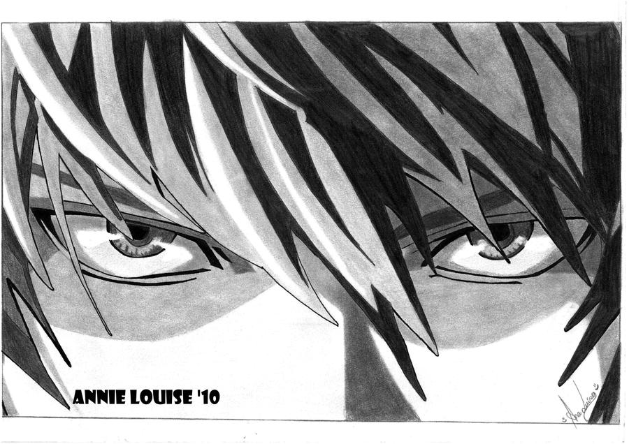 Yagami Raito Eyes DEATH NOTE by AnnieLouise55