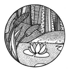 Pond Zendala by sweaterbrau