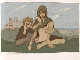 Reading Lessons in Haven by Maseiya